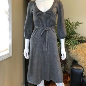 EUC ♥️French connection fit&flare knit dress size4